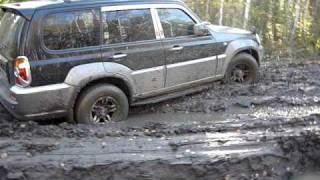 Hyundai Terracan Иномарки на бездорожье смотреть