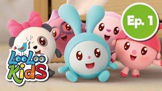 BabyRiki EP 1: See-saw - Cartoons for Children | LooLoo Kids