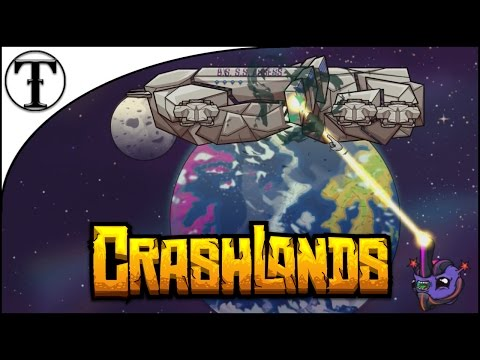 Crashed on a Different Planet :: Crashlands Episode 1