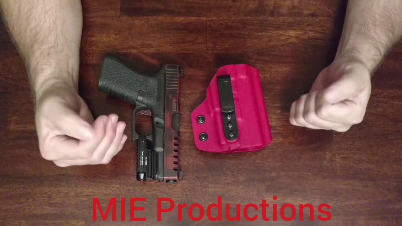 Olight Light Bearing AIWB Holster w// Concealment Claw MIE Productions