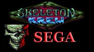 Skeleton Krew SEGA Mega Drive/Genesis прохождение игры [001]
