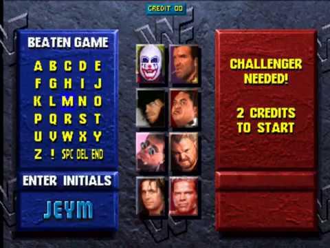 WWF Wrestlemania:The Arcade Game-World Wrestling Federation Championship Playthrough with Bret Hart
