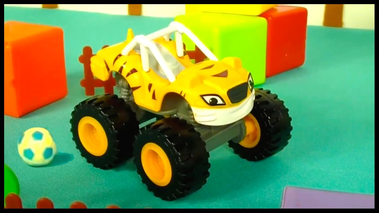 crusher 39 s balls monster truck toys for kids toy cars videos for children videos for kids. Black Bedroom Furniture Sets. Home Design Ideas