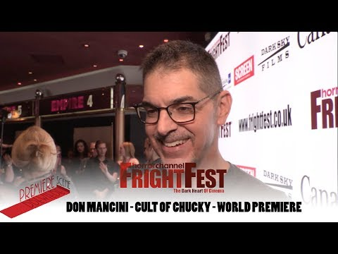 """""""What Happens When Nica, Tiffany & Andy Barclay Come Together"""" Don Mancini, Cult Of Chucky"""