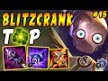 Full AP Blitzcrank TOP with Aftershock and Luden's Echo | Iron IV to Diamond Episode #15