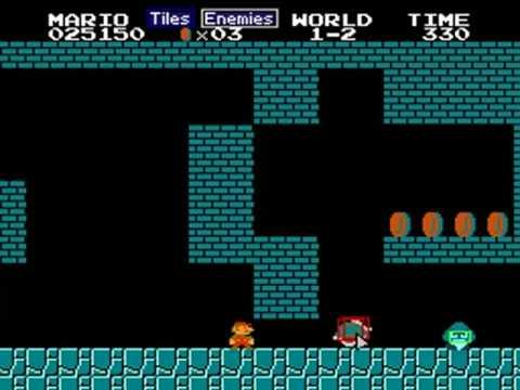 Super Mario Bros. 1 Drag & Drop (FCEUX 2.1 + Lua)