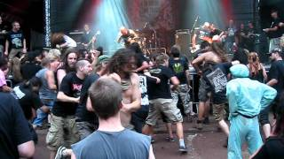 The Rotted - Only Tools and Corpses  live @ Obscene Extreme 2011