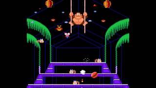 Arcade Game: Donkey Kong 3 (1983 Nintendo)