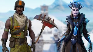 FORTNITE Live-PLAYING AVEC le NOUVEAU LEGENDARY SKIN ICE QUEEN - FORTNITE LIVE SHOP et PLUS!
