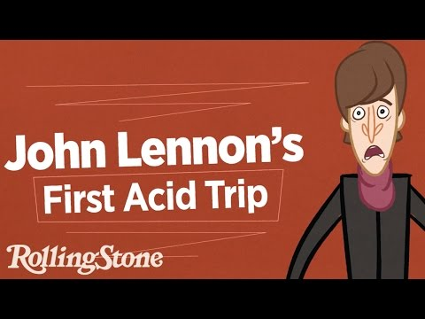 John Lennon's First Acid Trip