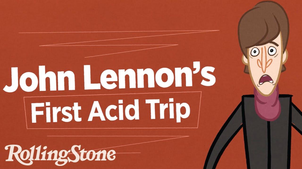 John Lennon On His First Acid Trip - Digg
