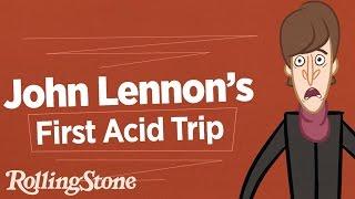 John Lennon's First Acid Trip