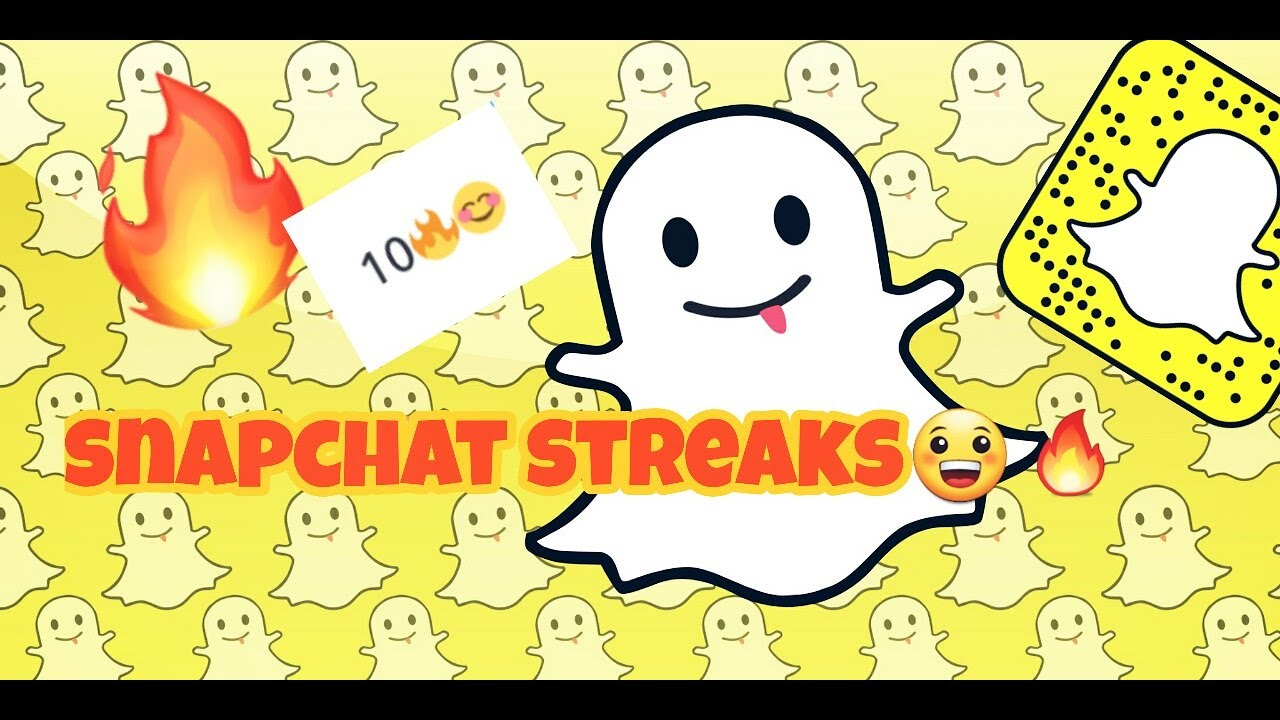 What are streaks for snapchat