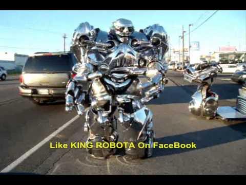 Dancing Robot, Real, Steel, Transformer Worlds Best EVER!!