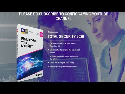 HOW TO GET BITDEFENDER TOTAL SECURITY FREE FOR LIFETIME | 2020