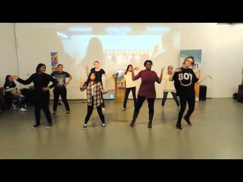 Korean Cultural Centre UK Kpop Academy - winning dance team!