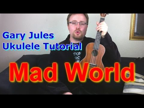Mad World - Gary Jules - finger-picking -...