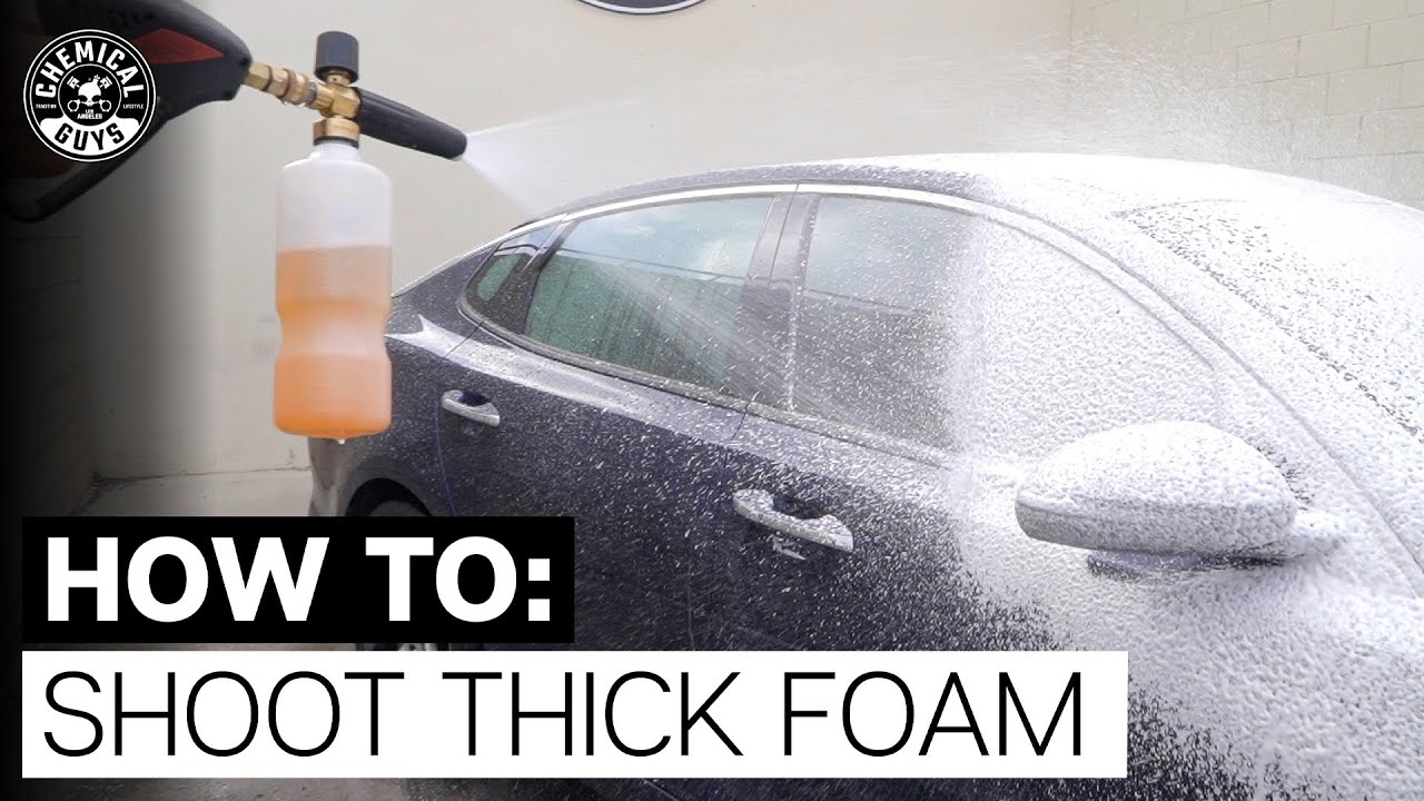 How To Shoot Thick Foam! - Chemical Guys
