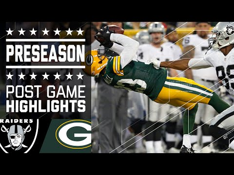 Raiders vs. Packers | Game Highlights | NFL