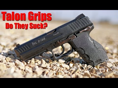 Talon Grips Review: Do They Suck? Granulated & Rubber