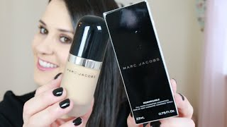 Fond de teint Re(Marc)able MARC JACOBS : Revue + application - Cyrielle