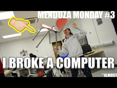 THERE IS A CIRCUS AT MY SCHOOL! // MENDOZA MONDAY #3