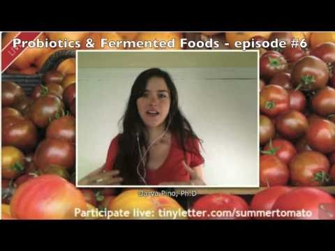 Probiotics & Fermented Foods - Episode 6 - Summer Tomato Live