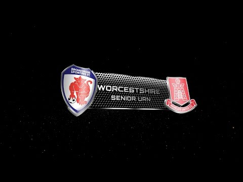 Bromsgrove Sporting 1 - 1p Highgate Utd  | Worcestershire Senior Urn Final 2016/17