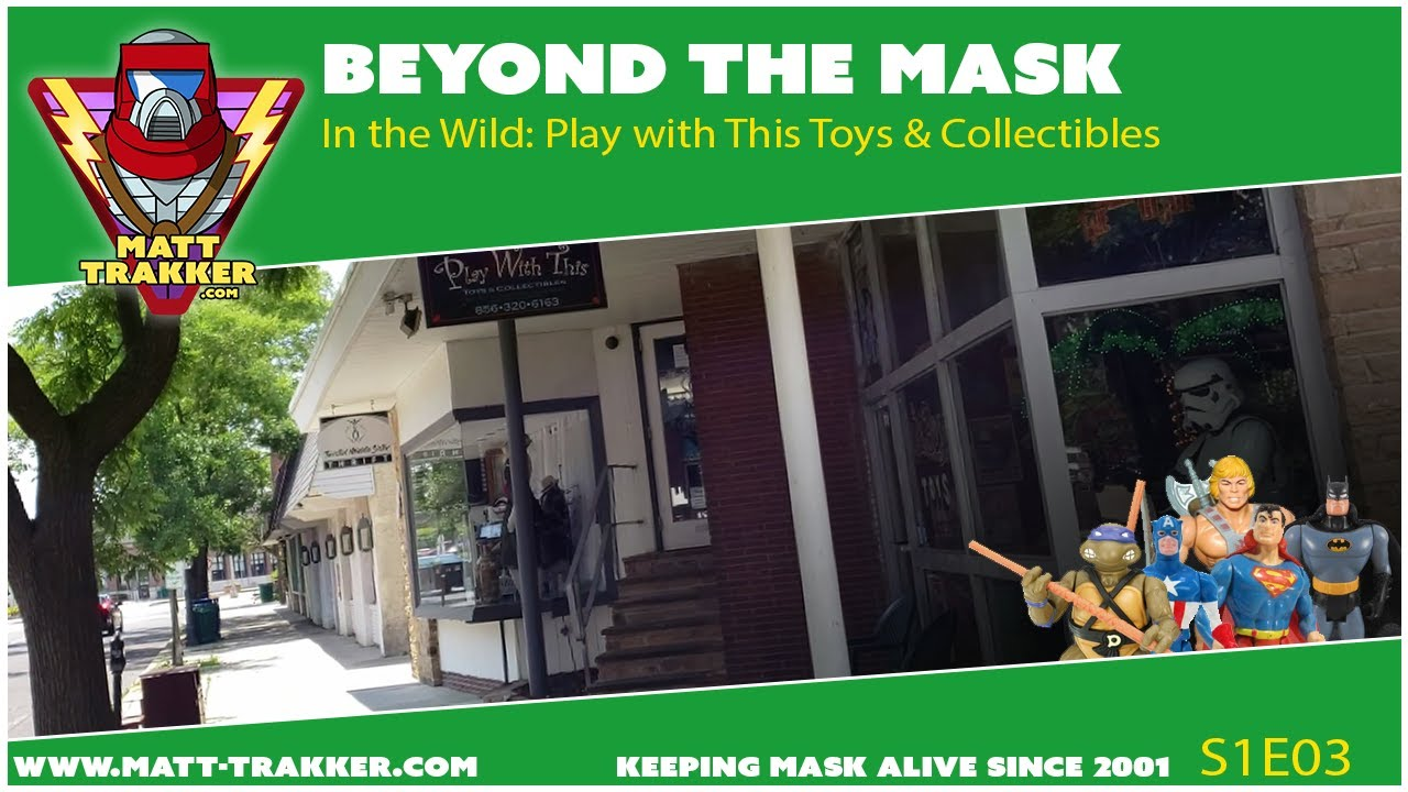 In the Wild: Play with This Toys & Collectibles - Beyond the MASK S1E3