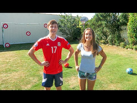 Thumbnail: FORFEIT FOOTBALL vs MY SISTER
