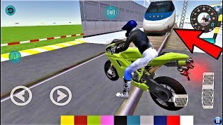 SUPER BIKE VS Bullet Train POLICE Car Driving School- Best Android Gameplay HD #22