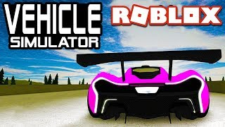 SPOILERS on McLaren P1 in Vehicle Simulator! | Roblox