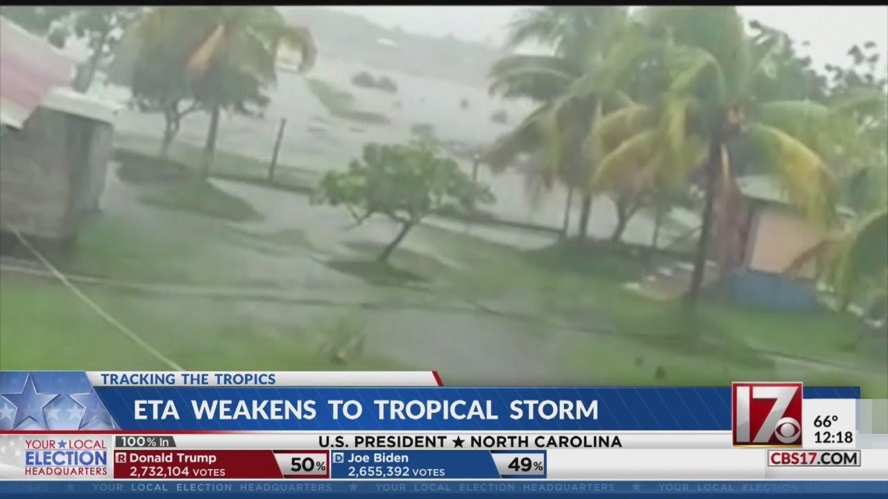 Tropical Storm Eta making landfall in Cuba, heads towards Southern ...