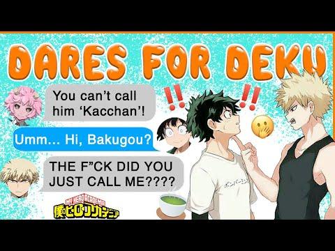Deku CALLS Kacchan