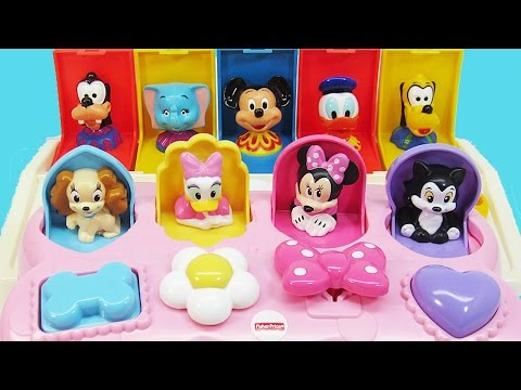 Mickey Mouse Clubhouse Pop-Up Pals Surprise Disney Baby Toys