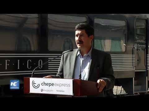Estrena el Chepe express vagones de lujo, en Chihuahua