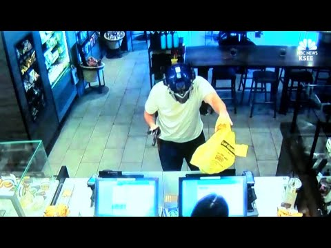 Suspected Starbucks robber wants to sue man who stopped him