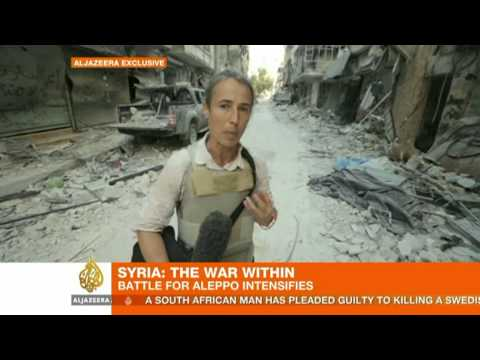 Syria: Battle for Aleppo intensifies