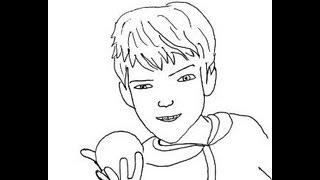 Rise of the Guardians (Film) Jack Frost How to draw? Хранители снов Джек Фрост Как нарисовать?