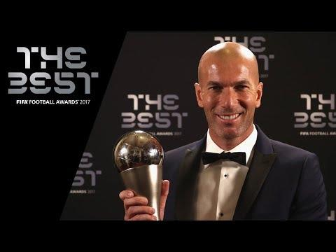 Zinedine Zidane interview - The Best FIFA Men's Coach 2017