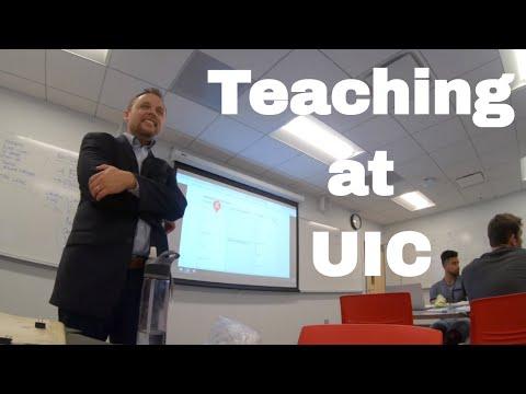 Teaching At University Of Illinois Chicago - VLOG 38