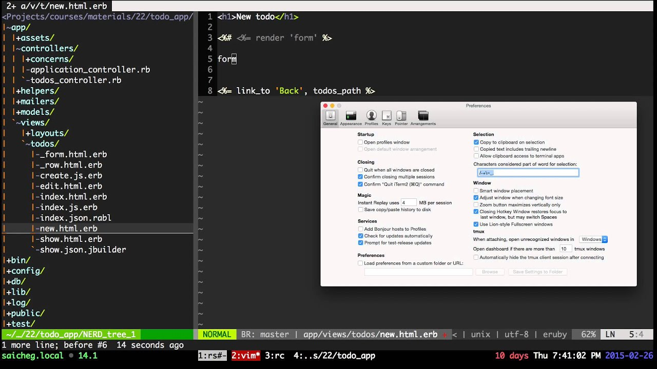 19. Rails template engines. Rails form helpers. ( In Russian ...