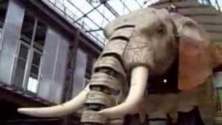Un Eléphant à Nantes