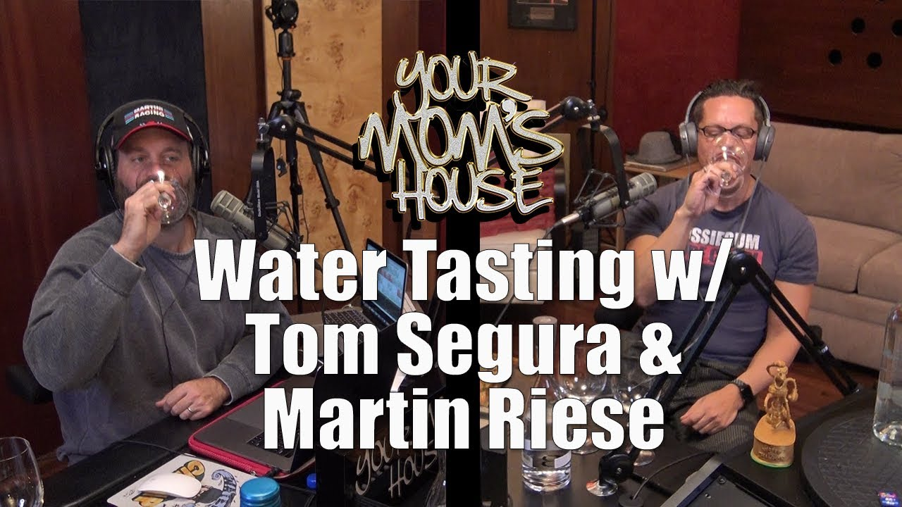 Water Tasting with Tom Segura & The Water Sommelier - YMH Highlight