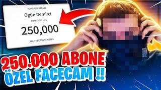 250.000 ABONE ÖZEL FACECAM !! ZED İLE DUMAN ETTİM !! | Ogün Demirci