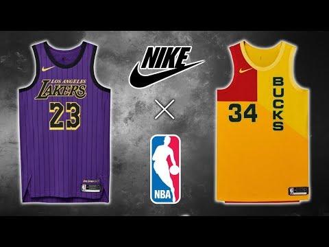 All 30 NBA Team Nike City Edition Jerseys (2018) thumbnail