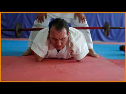Slideshow: Gaza man with disabilities conquers karate