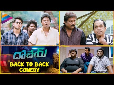 Dohchay Telugu Movie Back to Back Comedy Scenes | Naga Chaitanya | Kriti Sanon | Telugu Filmnagar