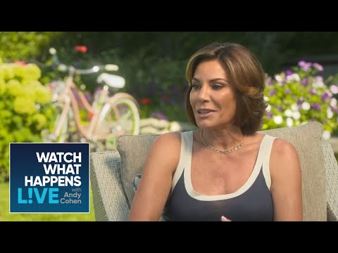 Luann Defends Defending Tom  RHONY  WWHL
