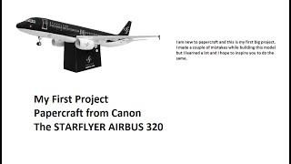 Papercraft A320
